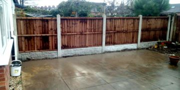 Fencing Mapplewell After