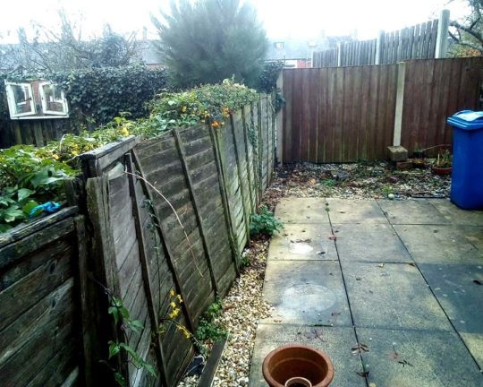 fencing-mapplewell-before