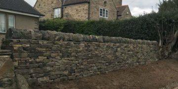 Garden Retaining Wall Woolley