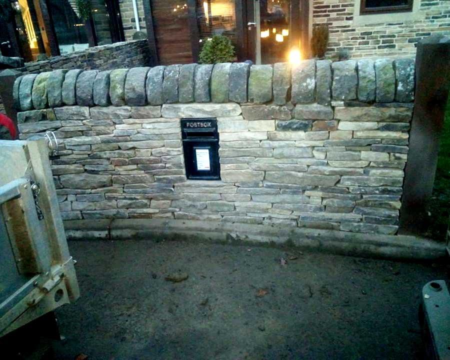 Huddersfield Garden Wall