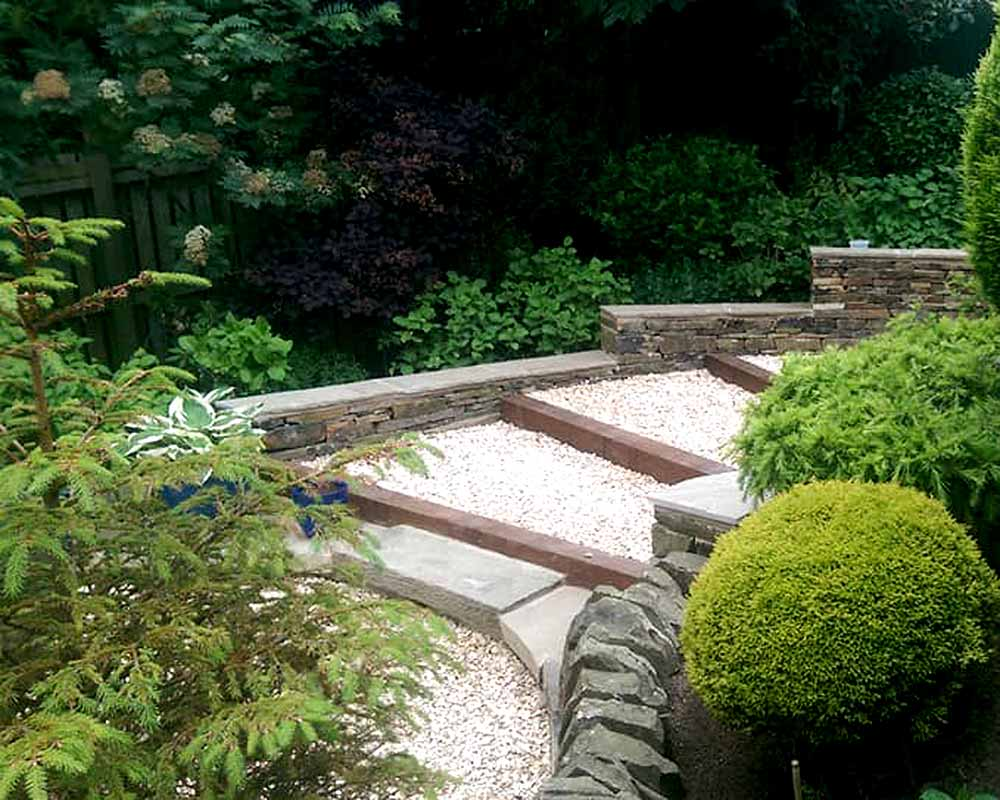 Landscaping Dry Stone Walling