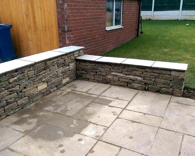 Small Dry Stone Wall Barnsley